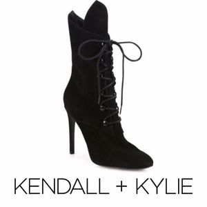 Kendall and Kylie Suede Booties